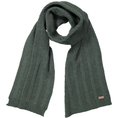 CMP Scarf Woman's Knitted Scarf Mis. 180 x 28 Dark Green Plain