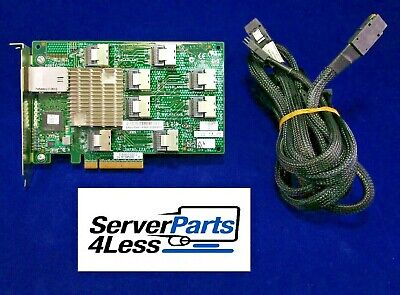 468405-002 468405-001 HP 24 BAY 3GB SAS EXPANDER CARD W// 4x CABLE