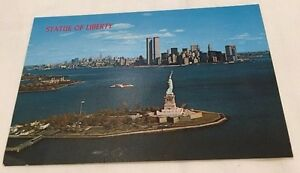 World-Trade-Center-Pre9-11-Twin-Towers-amp-Statue-Liberty-WTC-NY-3-75x5-5-Postcard