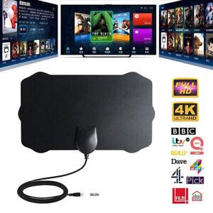 960-Millas-De-Alcance-Antena-Tv-Digital-Hd-Hdtv-1080P-Skywire-4K-Antena-Digital-Interior