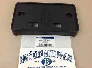 1998-2002 Lincoln Town Car Front License Plate Bracket OEM NEW Genuine
