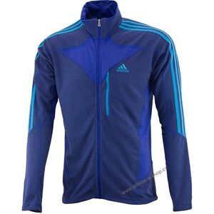 Details about NEW Adidas Terrex SWIFT COCONA FLEECE FULL Zip RUNNING JACKET XL $75 BLUE X20270