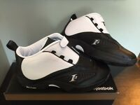 Reebok Answer Iv Stepover V55619 Black White Allen Iverson Ai 4 Ds