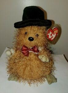 Ty Beanie Baby - PUNXSUTAWNEY PHIL 2005 Groundhog (COC PA Exclusive) MINT TAGS