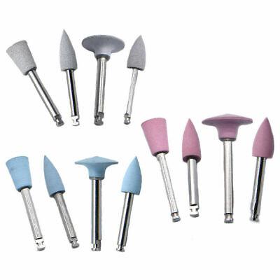 Silicone Polishing Kit,100 pcs Ar101M Silicone Polishing Bur Bits for Amalgam and Metal
