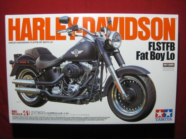 Tamiya 1 6 Motorcycle Series No 41 Harley Davidson Fat Boy Lo 16041 Japan For Sale Online Ebay