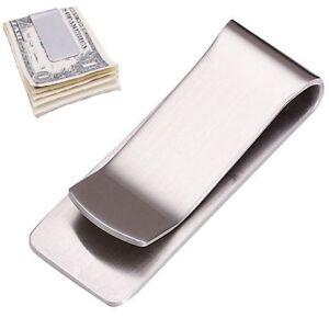 geldklammer silber geldscheinklammer geldspange money clip dollarclip geldclip ebay. Black Bedroom Furniture Sets. Home Design Ideas