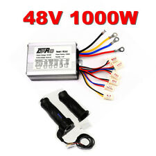 Details about  /48V 1000W Brush Motor Controller Throttle Grips Charger For E-bike Scooter
