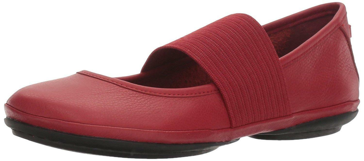 New Womens Ladies Ladies Ladies Camper Right Nina Ballet Flats Trainers shoes Red 21595 de20bb