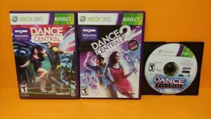 Dance-Central-1-2-Paradise-for-XBOX-360-Game-Lot-Requires-Kinect-Bar-TESTED