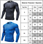 Men-039-s-Compression-Armour-Long-Sleeve-Base-Layer-Top-Tracksuit-Gym-Sports-T-Shirt thumbnail 6