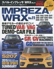 Hyper REV 2015 Vol.199 SUBARU IMPREZA WRX No.11 Car Magazine Japanese