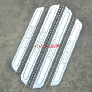 Car Stainless Steel Door Sill Scuff Plate Guards For Honda Crosstour 2010-2015