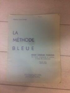 Strict La Méthode Bleue Méthode Élémentaire D'harmonium Chanoine Francis Potier Officiel 2019
