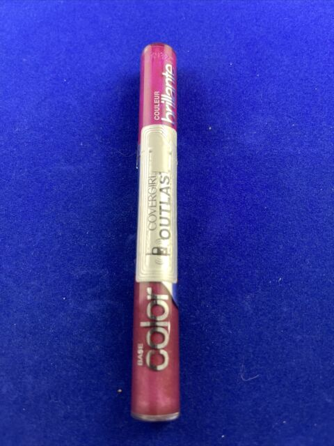 1 duo COVERGIRL OUTLAST ALL DAY INTENSE LIPGLOSS DUO 110 PASSIONATE PINK Seal