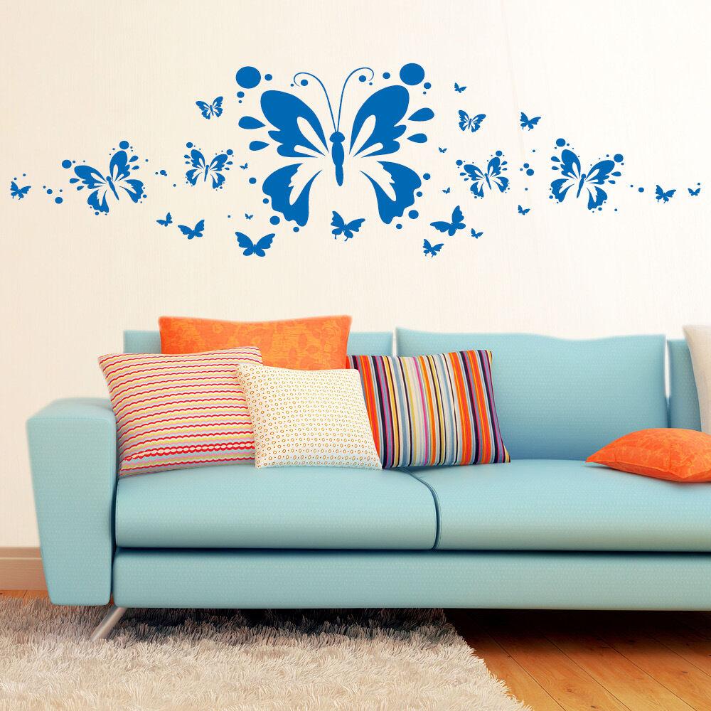 10603 Wandtattoo Loft Wandaufkleber Schmetterlingszauber Schmetterlingszauber Schmetterlingszauber Frühling Bordüre Punkte | Online Store  c99996