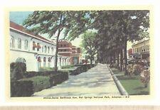 Million Dollar Bath House Row  Hot Springs AR  Unused Linen  Postcard 669