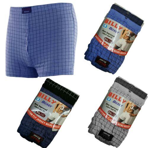 Homme Carreaux Billy Boxer Taille Élastique Hipster Sous-vêtements Court Plus Taille