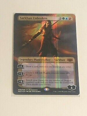 Mythic Edition NM MTG Magic the Gathering Sarkhan Unbroken War of the Spark