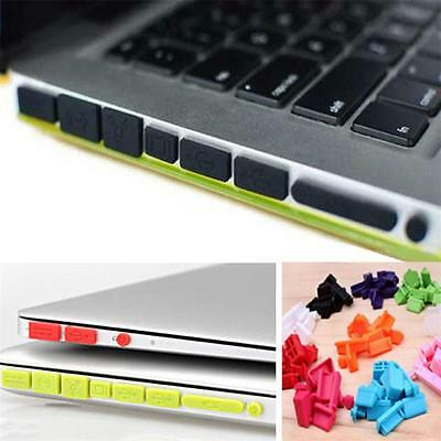 Rubber Silicone Gel Anti-Dust Port Plug Cover Stopper for MacBook Pro Air Retina