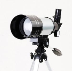 Professional-Astronomical-Monocular-Telescope-F30070M-Tripod-Barlow-Lens-Eyepiec