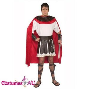 Image is loading Mens-Boys-Roman-Warrior-Costume-Spartan-Fighter-Soldier-  sc 1 st  eBay & Mens Boys Roman Warrior Costume Spartan Fighter Soldier Halloween ...