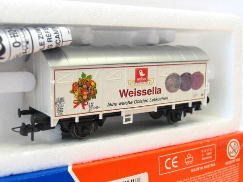 Güterwagen Gs Weissella DB OVP Roco H0 47262 ged TR18