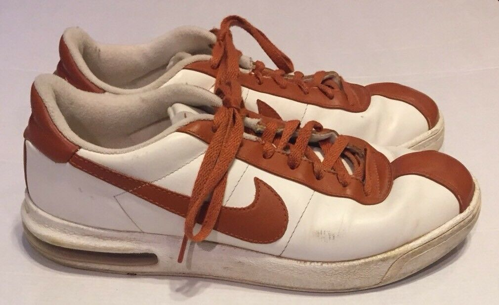 Nike ID Texas Longhorn Athletic Scarpe Uomo 11 White Burnt Orange UT University