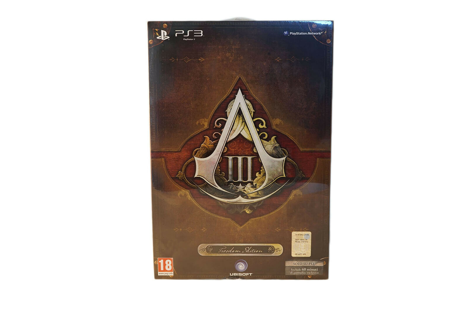 ASSASSIN'S CREED III 3 gratuitodom Collector's edizione PS3. NUOVO NUOVO NUOVO  fb6030