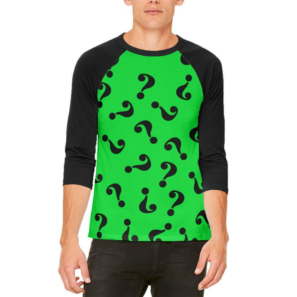 361e537e Halloween Riddle Me Costume Mens T Shirt This Raglan nogxbl1357-Hoodies &  Sweatshirts