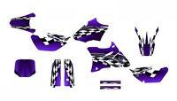 Yz85 Graphics 2002 - 2014 Yz 85 Dirt Bike Deco Kit 2500 Purple Customizable