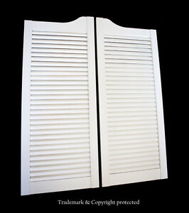Image Is Loading White Cafe Door 30 034 W Pine Louvered
