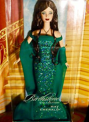 Barbie Birthstone Collection May Emerald Collector Edition Birthday Doll