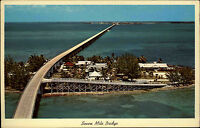 Florida Keys USA AK 1963 Amerika Seven mile bridge over the Pigeon Key Brücke