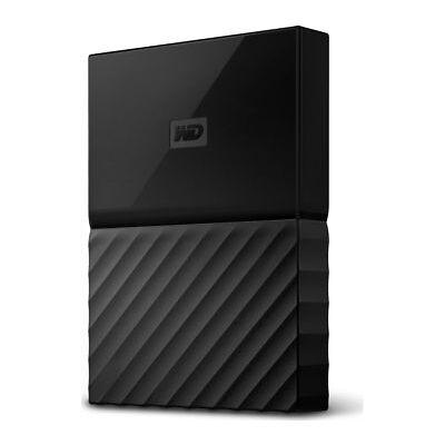 WD My Passport Portable Hard Drive - 4 TB, Black