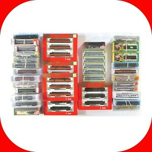 N-Scale-PASSENGER-CAR-Variety-lot-Micro-Trains-Con-Cor-Multi-Pack-Sets-NEW