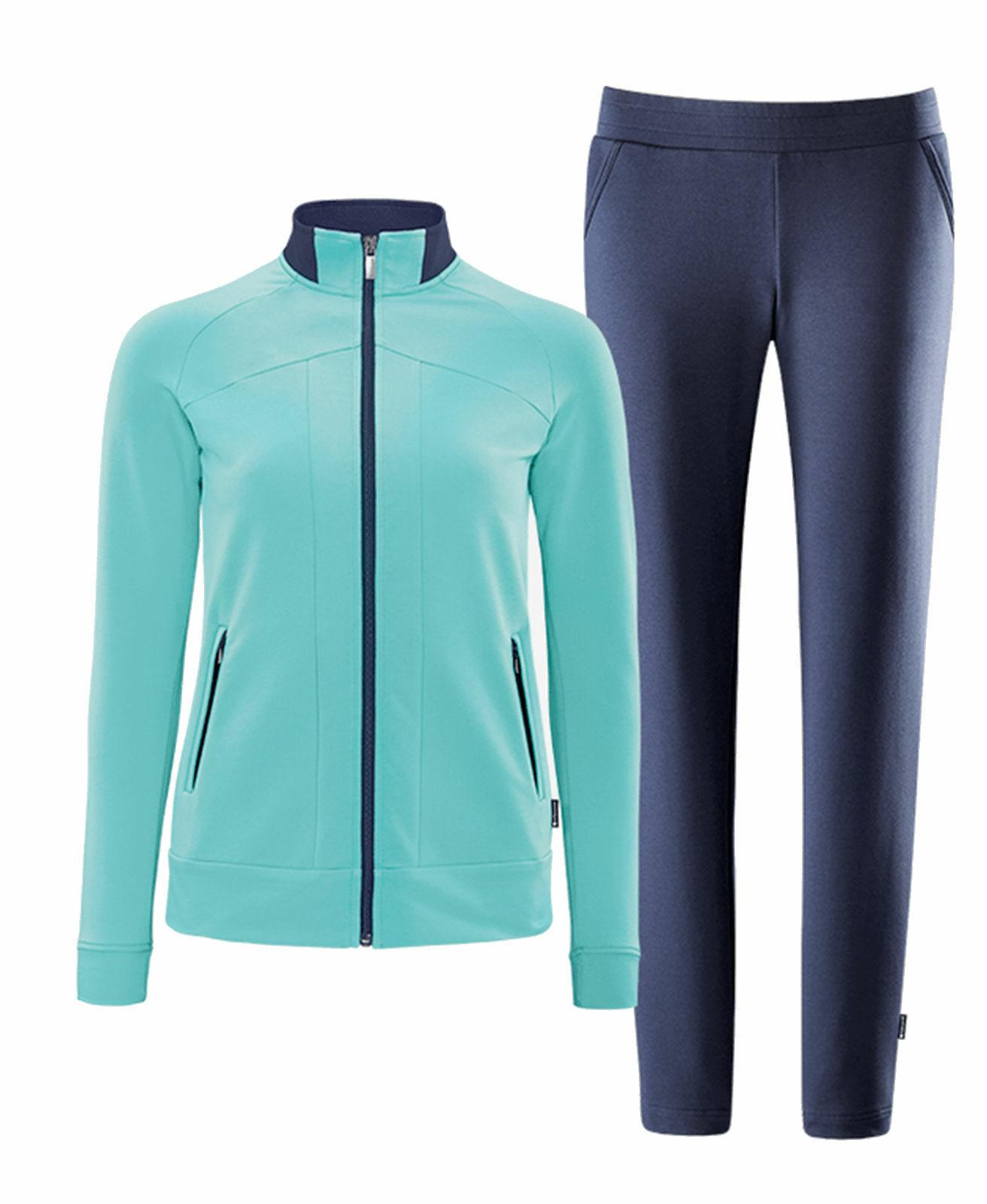 Schneider sportwear Donna Tuta tuttienauominito Sport Tempo Libero Deenaw verde Blu