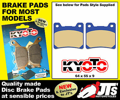 FRONT SET DISC BRAKE PADS TO SUIT YAMAHA SRX 400 SRX400 1JL 85