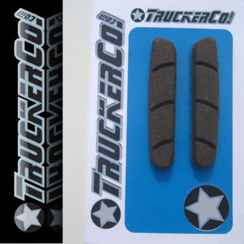 Carbon Rim Safe TruckerCo High Performance Brake Pads Campagnolo Zero Gravity