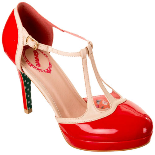 Heel Pumps Days Rockabilly Swing Vintage Betty Rot High Dancing Lackleder xw1XFnqWW