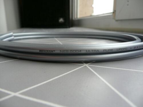 Neotech 11AWG Bi-Wiring Speaker Jumpers NES-5004 Unterminated Upgrade Elac Focal