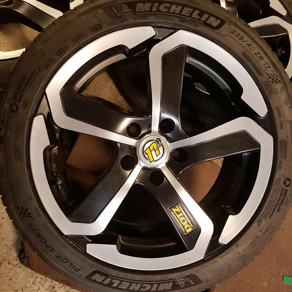 "17"" 5x112 Dotz Hanzo 235/45 17 97Y Michelin Pil..."