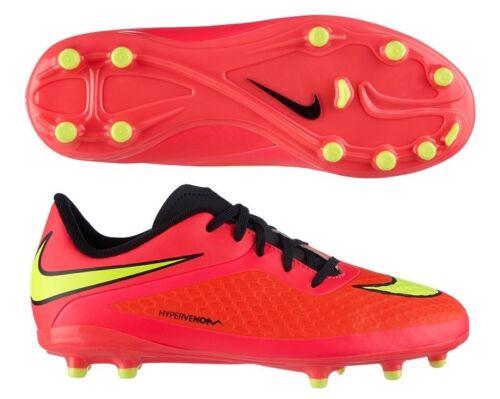 Nike Hypervenom Phelon Fg Junior Firm Ground Football Chaussures Enfants Hyper Punch