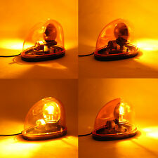 12V Rotate Beacon Amber Warning light Magnetic Emergency Warning Breakdown