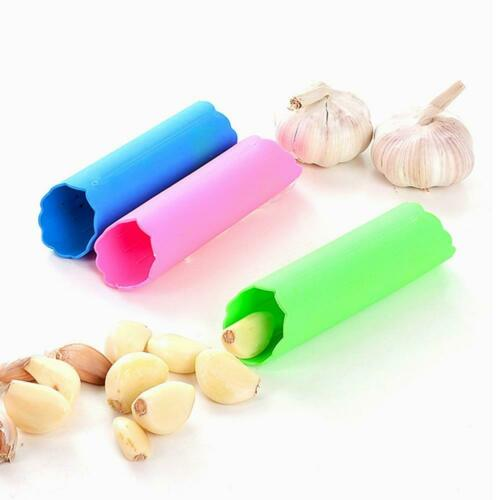 Silicone Garlic Cloves Peeler Skin Remover Press Roller Tool sell 2020 W4S7