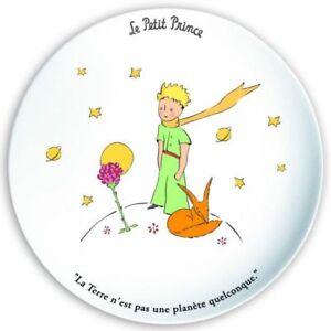 ASSIETTE PLATE LE PETIT PRINCE SAINT EXUPERY LA TERRE 7l1EKoIr-09092907-368797527