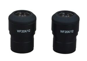 OMAX 2 WF30X Widefield Eyepieces for Stereo Microscopes 30.0mm