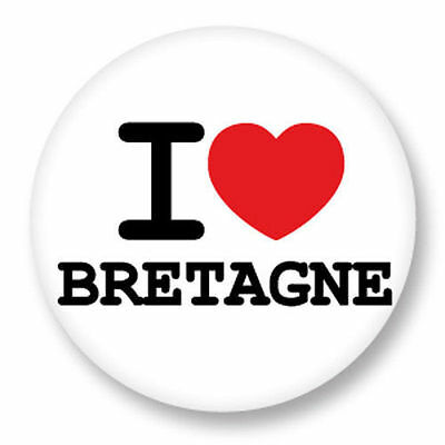 Magnet Aimant Frigo Ø38mm Drapeau Flag Breton Breizh BZH Bertaèyn