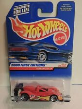 Hot Wheels FERRARI 333 SP~2000 First Editions #071  ***MINT ON CARD***