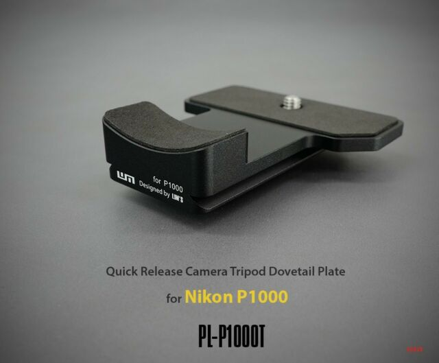 LIM'S Quick Release Camera Tripod Dovetail Plate For Nikon P1000